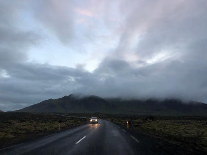 Iceland drive